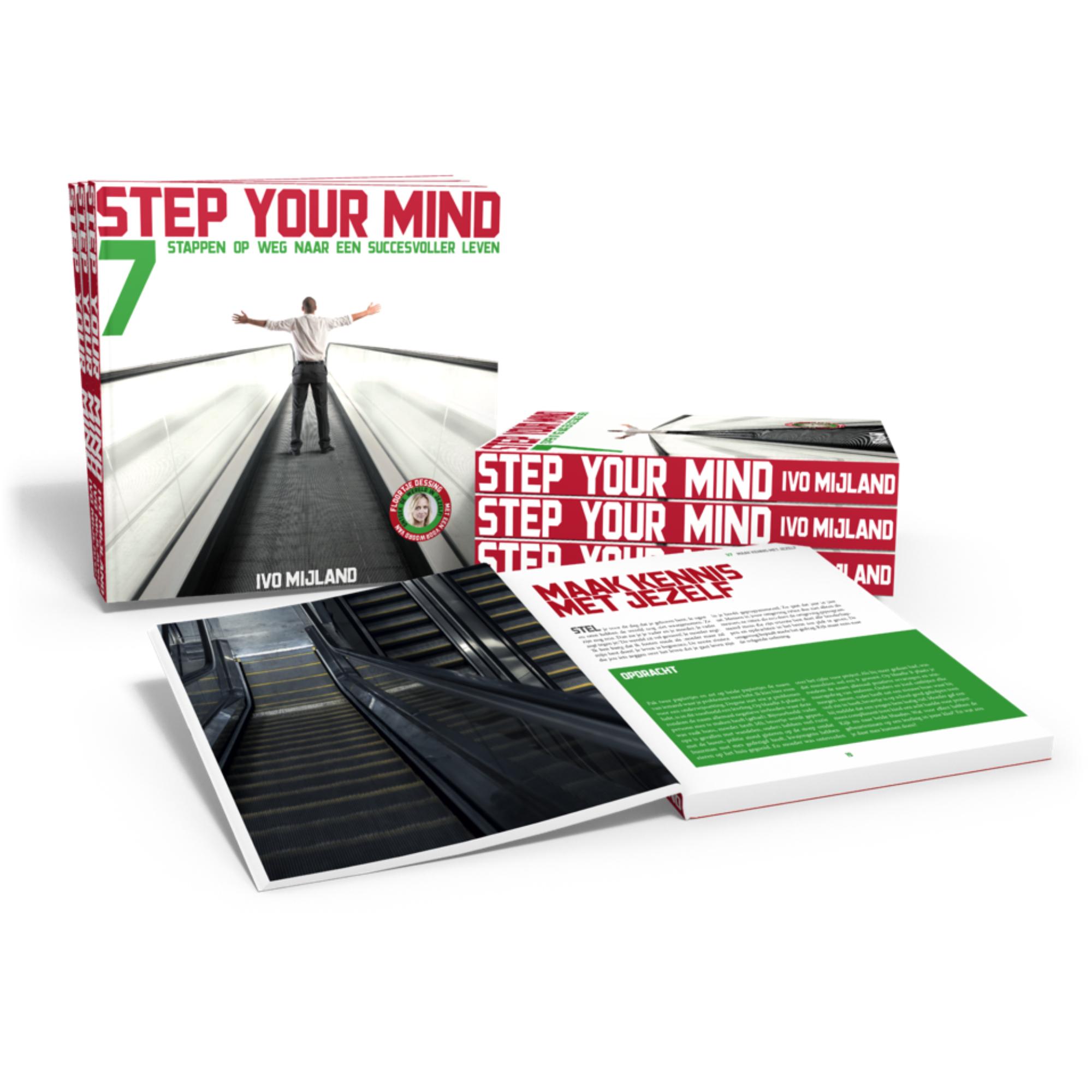 Step your mind: Nieuw boek van Ivo Mijland