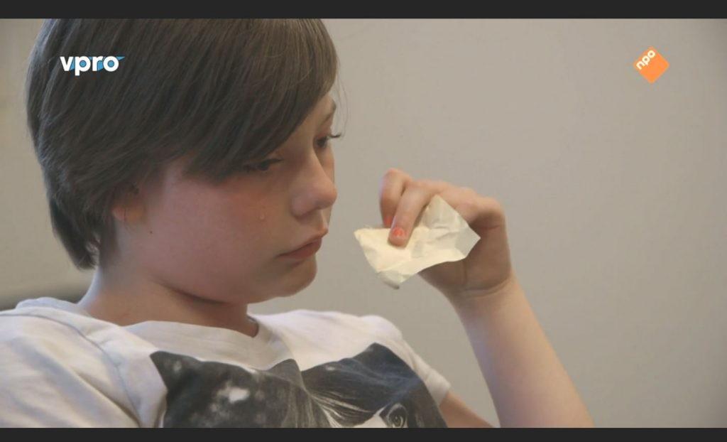 Gewone meisjes eten geen papier